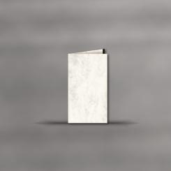 Cartes de deuil, double portrait, Marmor avec barre