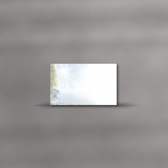 MAYSPIES® Premium Trauerkarten, einzeln, Spätsommer