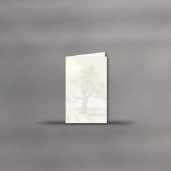 MAYSPIES® Premium Trauerkarten, hochdoppelt, Lebensbaum