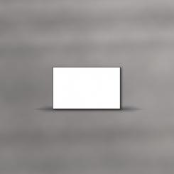 Cartes de deuil, simples, cadre de 1mm
