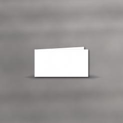 Trauerkarten, querdoppelt, blanko