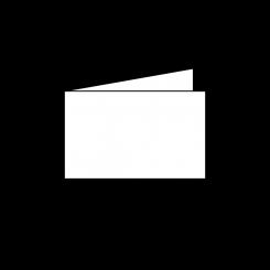 Trauerkarten, querdoppelt, 1 mm gerändert